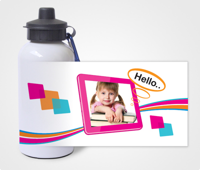 Online Water Bottles printing Kids Photo