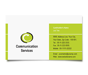 Business Card printing Communication Systems