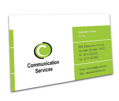 Online Business Card printing Communication Systems