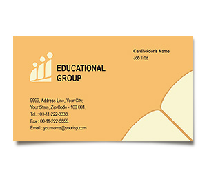Business Card printing Educational Activities