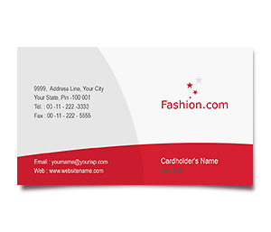 Business Card printing Womens Fashion Club