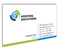 Online Business Card printing Hosting Packages
