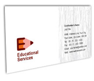 Online Business Card printing Educational Supplies