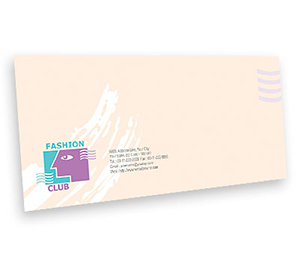 Envelope printing Fashion Club
