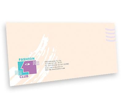 Online Envelope printing Fashion Club