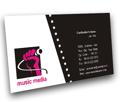 Online Business Card printing Sound and Film Media
