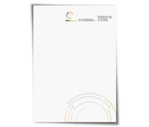 Letterhead printing Website Solution