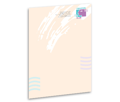 Online Letterhead printing Fashion Club