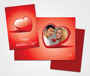 Greeting Card printing Valentine s Day Photo Card
