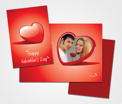 Online Greeting Card printing Valentine s Day Photo Card