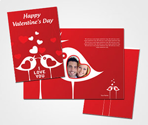 Greeting Card printing Valentines Day
