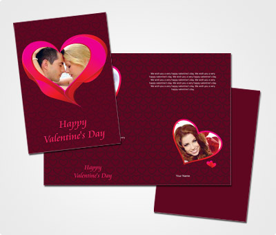 Online Greeting Card printing Printable Valentines Day