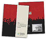 Online Brochure printing Financial Service