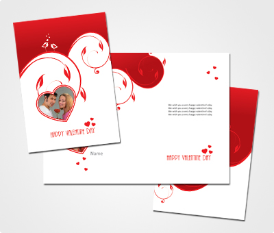 Online Greeting Card printing Own Valentines Day Cards