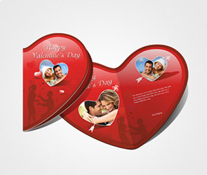 Greeting Card printing Online Valentines Day