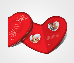 Greeting Card printing Print Valentines Card