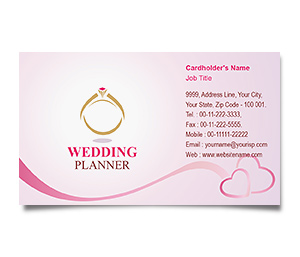 Business Card printing Wedding Event