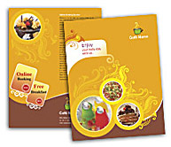 Online Brochure printing Bar and Grill