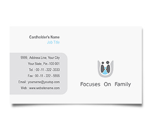 Business Card printing Family Care