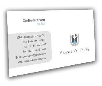 Online Business Card printing Family Care