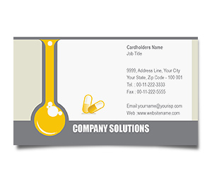 Business Card printing Pharmacy Technician