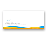 Online Envelope printing Tours and Travel