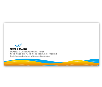 Letterhead Design for Tours And Travels Offset or Digital