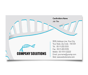 Business Card printing Research Medical