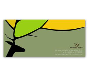 Envelope printing Animal & Pet Shop