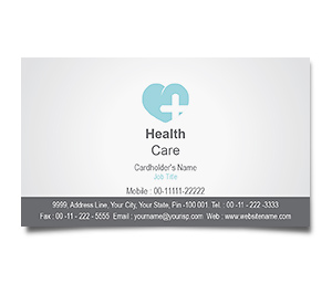 Business Card printing Heart Care