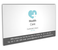 Online Business Card printing Heart Care