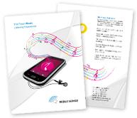Online Brochure printing Mobile Shop