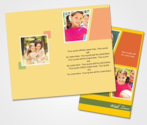 Note Cards printing Kids Party