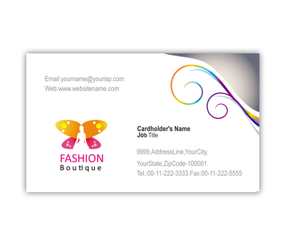 Online Business Card printing Fashion Place