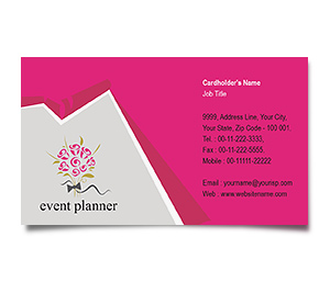 Business Card printing Events Management