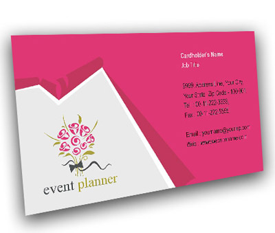 Online Business Card printing Events Management