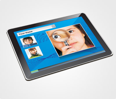 Online Mouse Pads printing Kids Picture