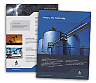 Online Brochure printing Oil Company