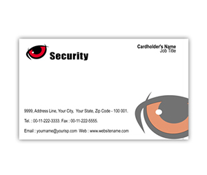 Business Card printing Security Systems