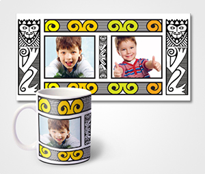 Mugs printing Children Pictures