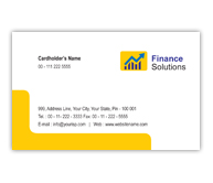 Online Business Card printing Financial Services