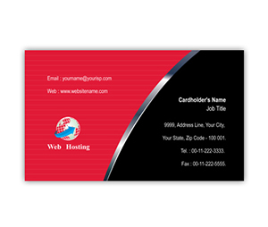Business Card printing Web Hosting Services