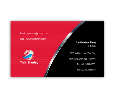 Online Business Card printing Web Hosting Services