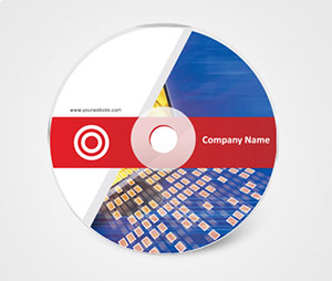 CD / DVD Stickers printing Construction Company