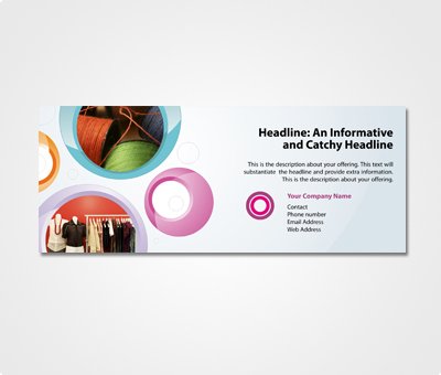 Online Exhibition Banners printing Textile Industry
