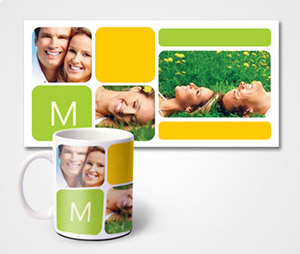 Mugs printing Happy Family Photos