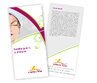 Online Brochure printing Beauty Shop