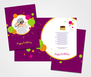 Greeting Card printing Happy Birthday