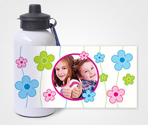 Water Bottles printing Kids Having fun