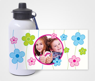 Online Water Bottles printing Kids Having fun